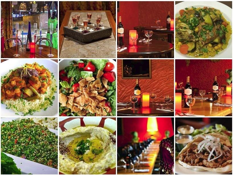 Fairuz restaurant Leeds - Lebanese food