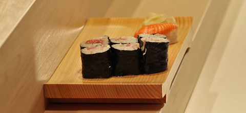 Tokyo's Naomichi Yasuda - Lesson on how to eat sushi