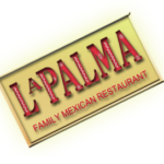 Mexican restaurant Seattle La Palma Family logo