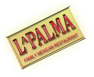 Mexican restaurant Seattle La Palma Family logo