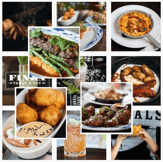 Asian food at Finka Table and Tap