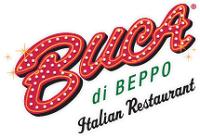 Buca di Beppo Italian Restaurant Sacramento California logo