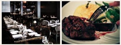 The food in Carisma Restaurant Toronto