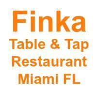 Finka restaurant Miami FL