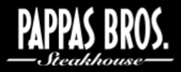 Pappas Bros Steakhouse Restaurant Dallas Texas logo