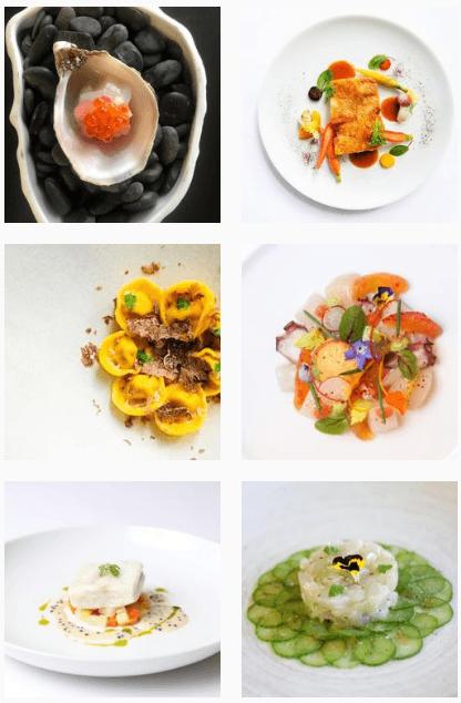 Seafood at Patina Restaurant Los Angeles