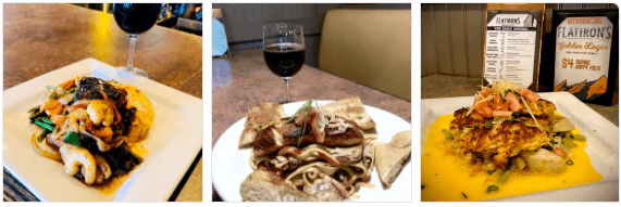 Eats at Flatiron's Restaurant
