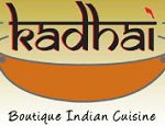 Kadhai Indian Restaurant Bethesda Maryland logo