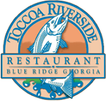 Toccoa Riverside Restaurant Blue Ridge GA logo