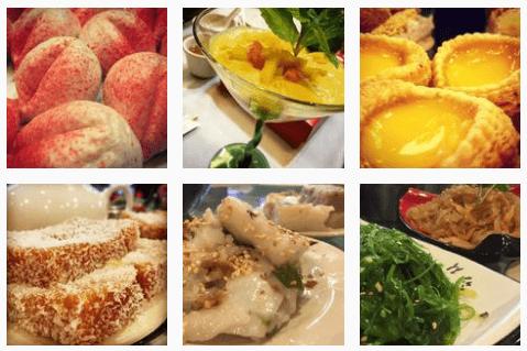 Chinese seafood at Jasmine Restaurant
