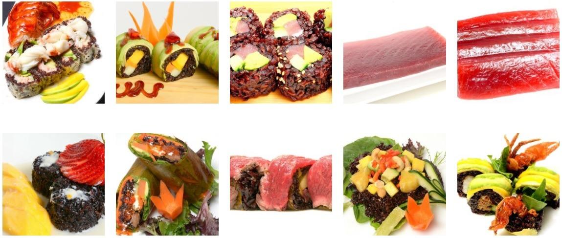 Food at Sun Cuisines