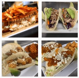 Grilled food at Wildwood Sports Bar