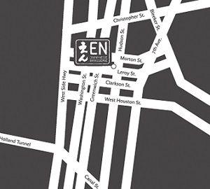 Location of EN Japanese Brasserie