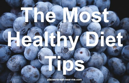 Most healthy diet tips