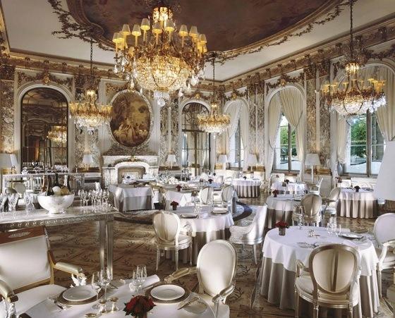 Restaurant Le Meurice Paris