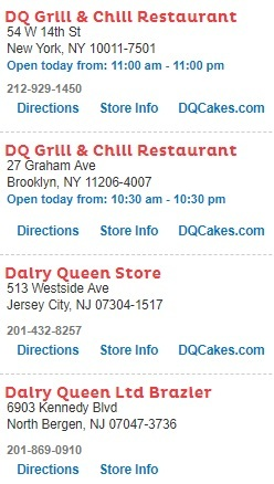 DQ Grill and Chill Restaurants Near Me