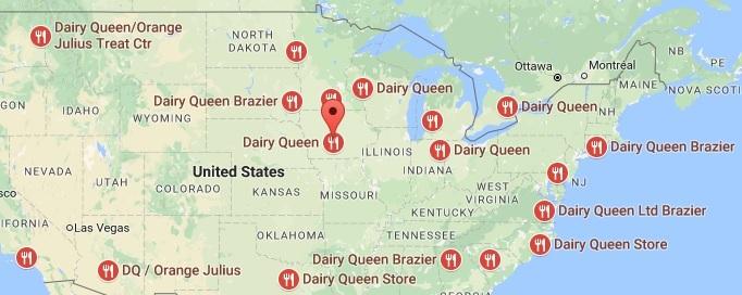 Dairy Queen Locations
