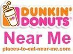 Dunkin' Donuts Near Me