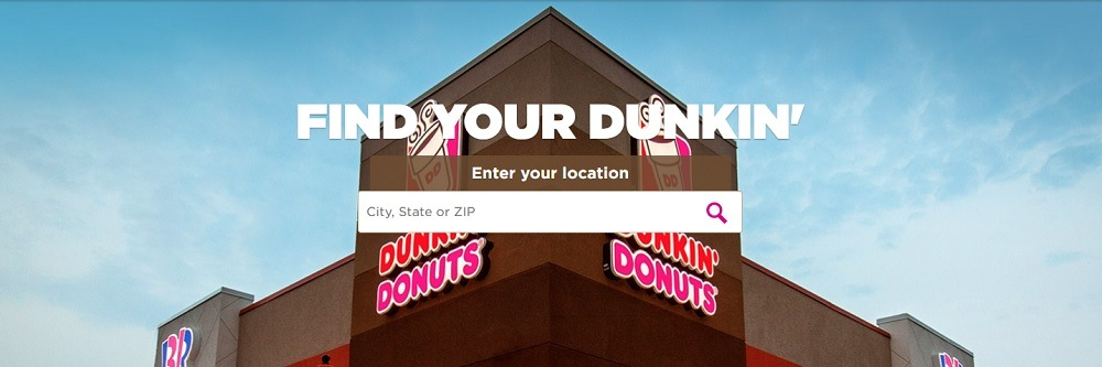 Find Your Dunkin - Location, City, State, Zip