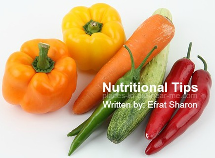 Nutritional Tips by Efrat Sharon