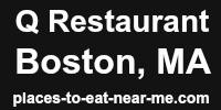 Q Restaurant Boston