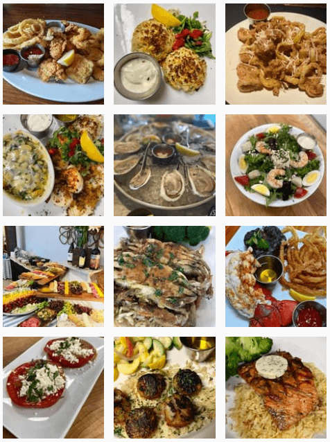 Seafood at Chesapeake Restaurant