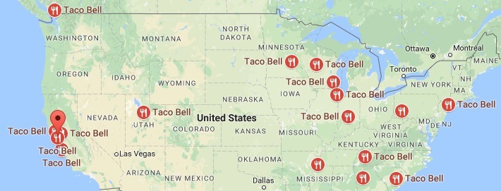 Taco Bell Locations