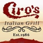 Ciro's restaurant Houston TX Italian Grill