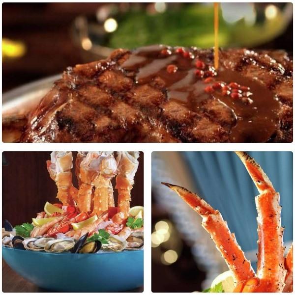 Prime Steakhouse Las Vegas food options