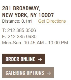 Chipotle Broadway Restaurant Information - hours, phone numbers