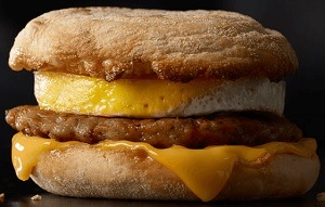 Sausage McMuffin with Egg