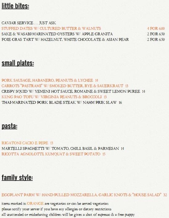 Roses Luxury Restaurant Menu Prices
