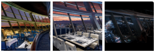 Top of the World Restaurant View