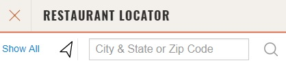 Cheddars Restaurant Locator Search by City/State/Zip Code