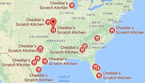 Cheddars Scratch Kitchen Locations