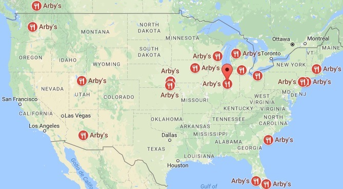 Arbys Locations