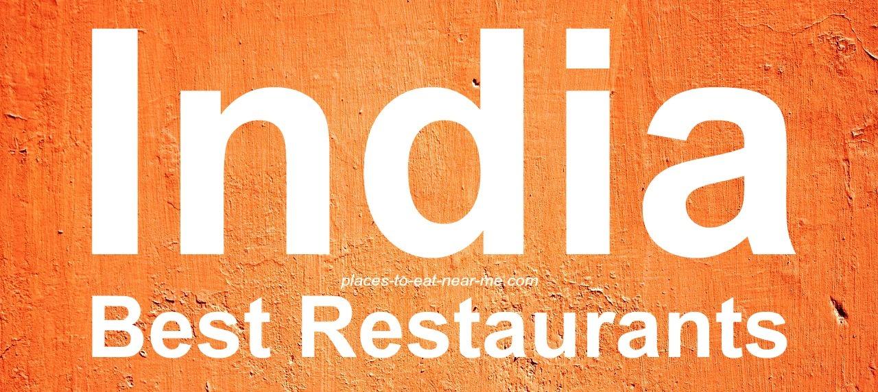 The best of India restaurants