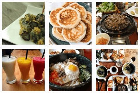 Korean food at Shin Jung Restaurant