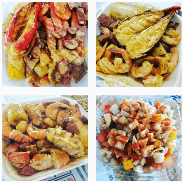 The food at 'Best Seafood Place' in Orlando