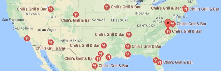 Chilis Grill & Bar Locations