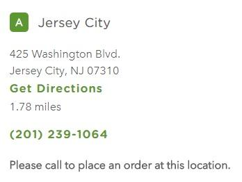 Chilis Jersey City Restaurant Information