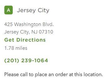 Chilis Jersey City Restaurant Information