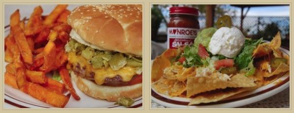 Monroe's burger