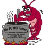 Po Boy Factory Sandwich Southern Restaurant Huntsville Alabama