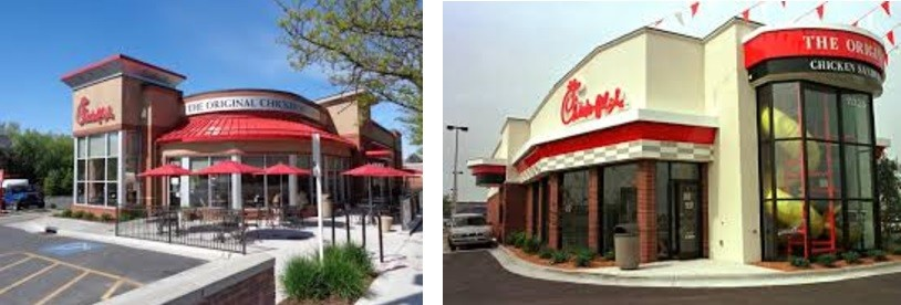 Chick Fil A Restaurants United States of America