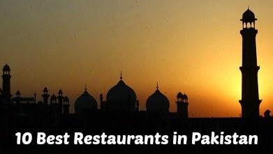 Best Restaurants in Pakistan