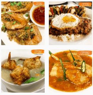 Chicken and egg at Utsav Restaurant