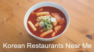 Places to eat Korean food near me