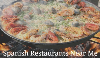Places to eat Spanish food near me