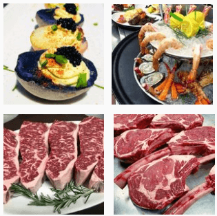 Steaks and seafood at Kres Chophouse
